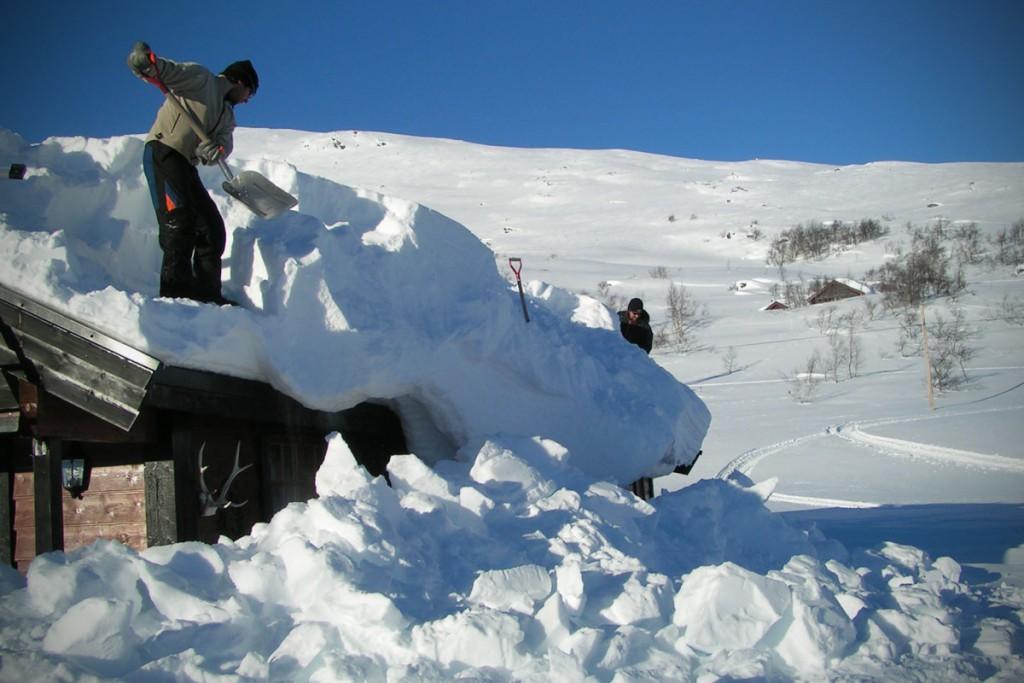 Skjåk Hytteservice tek på seg snømåking