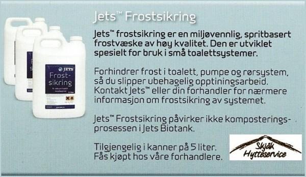 frostvæske jets