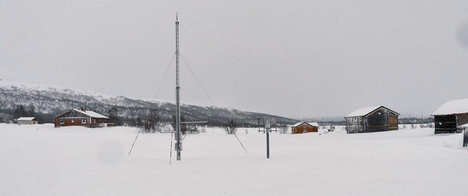 Snø – men det er visst «som normalt»