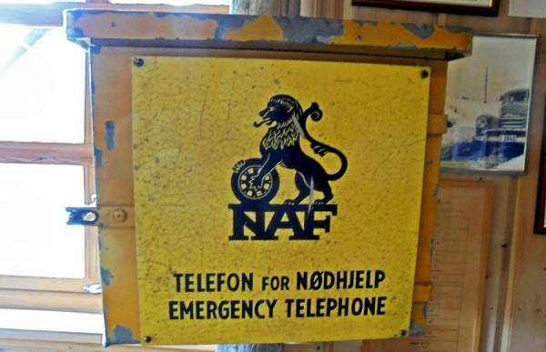 NAF nødtelefon