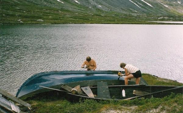 Ola-Bu tjerebreiing av båt -90