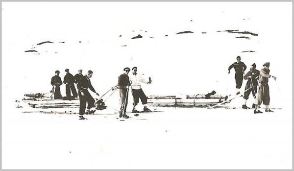 transport tømmer Ola-Bu Hamsedalen 1