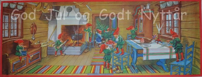 Det går mot jul og nytt år – også her i fjellheimen…