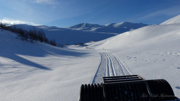 grotli skjåkfjell mastrunda skiløype 11.03.17